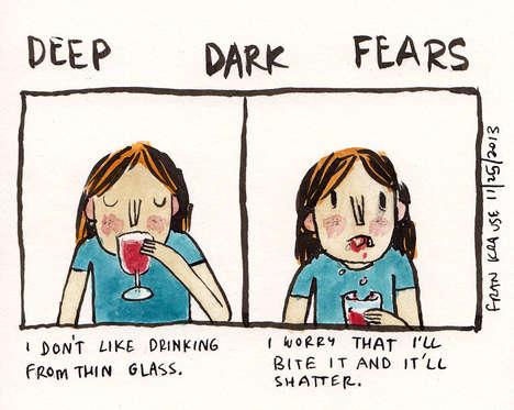 Deep-Seated Fears Illustrations