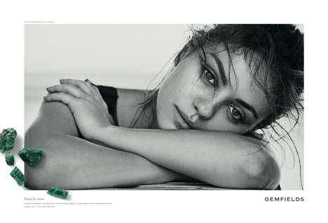 Makeup-Free Celeb Jewelry Ads