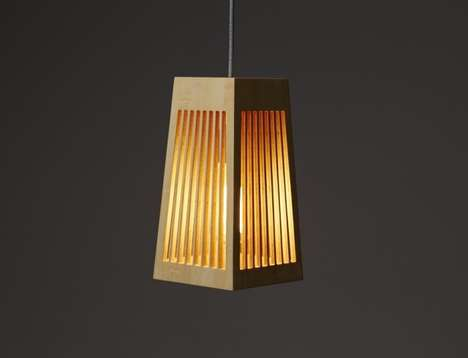 Wooden Cage Lighting