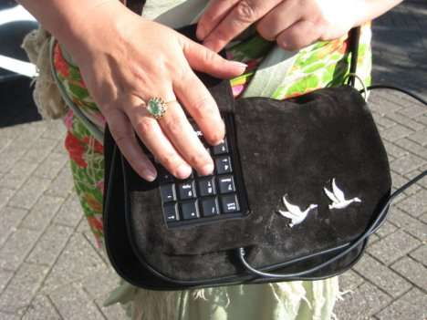 High Tech Hand Bags - Baglady 2.0