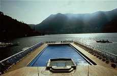 Floating Pools - Italy's Villa d'Este Offers Pool in Lake