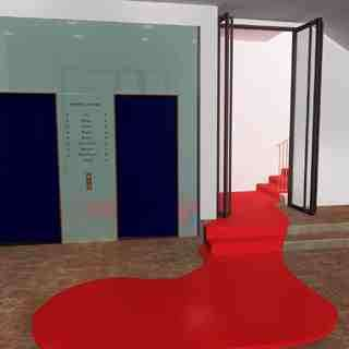 Fake Blood Carpets - The Fluid Stairway
