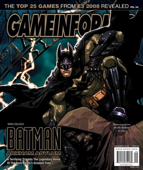 Comic Book Video Games - Batman Arkham Asylum by Rocksteady