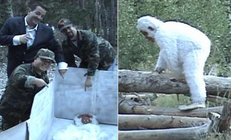 Jeff Beacher's Abominable Snowman