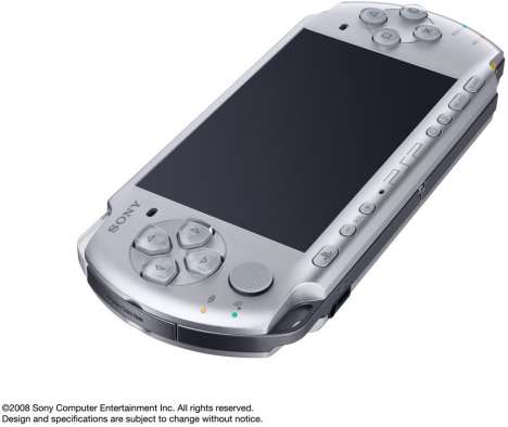 Microphone-Integrated Portable Gaming - The Sony PSP-3000