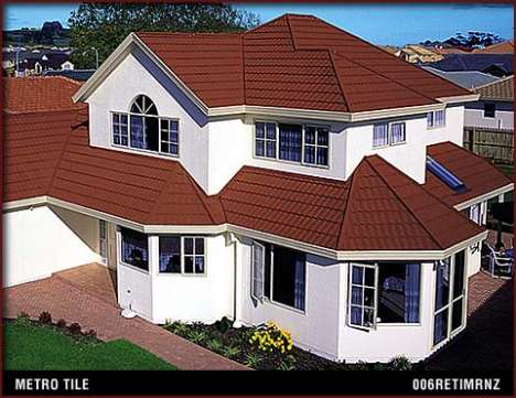 Imitation Roofing Materials - Steel MetroRoofs Look Like Tiles