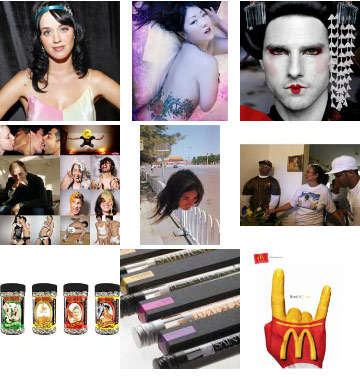 Superstar Lingerie, Stand Up Funerals, Katy Perry and Quirky Photography