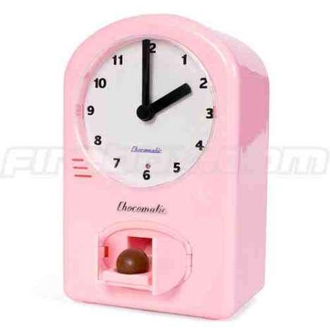 Chocolate Dispensing Clock