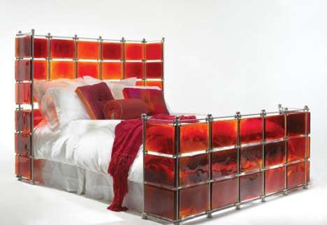 Red 'Hot Bed' by Xander Blue