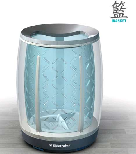 WiFi Washbaskets - The iBasket From Electrolux