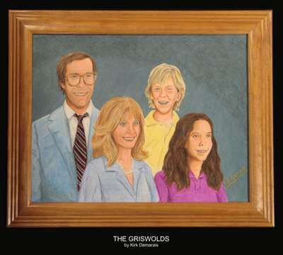 Movie Family Portraits - The Griswolds, Lundegaards, Torrances