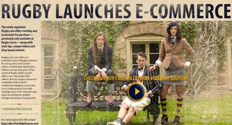 Fashion Buying Technology - Ralph Lauren's QR Codes and Interactive Windows