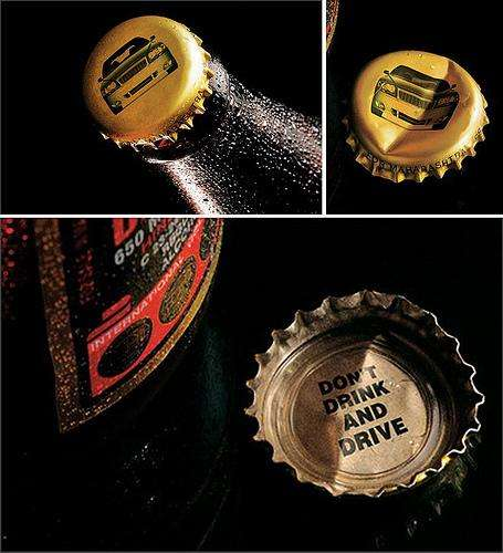 Beer Caps for Awareness