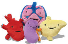 Internal Organ Plushies - I Heart Guts