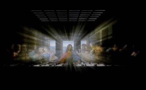 Animated da Vinci Paintings