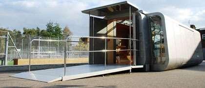 Mobile Schools in Semi Trucks