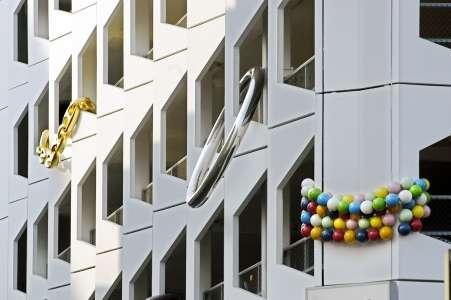 Giant Public Jewelry Art