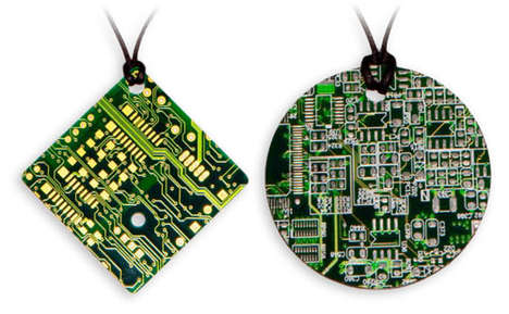 Eco Geek Necklaces