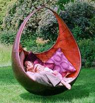 Suspended Pod Loungers