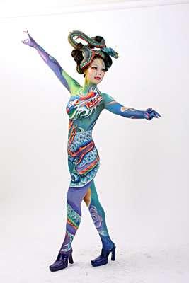 53 Extraordinary Examples Of Body Paint