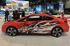 Gamer-Designed Concept Coupes - The Honda Forza Civic Si Was Designed for Virtual Racers