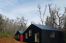 Timber Shed-Inspired Homes - MR House Was Inspired by Local Chilean Sheds Placed Against Each Other