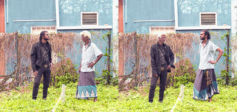 Generational Clothes Swap Photography