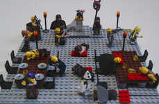Building Block Book Dioramas - LEGO Literature by Waterstones Celebrates 'The LEGO Movie'