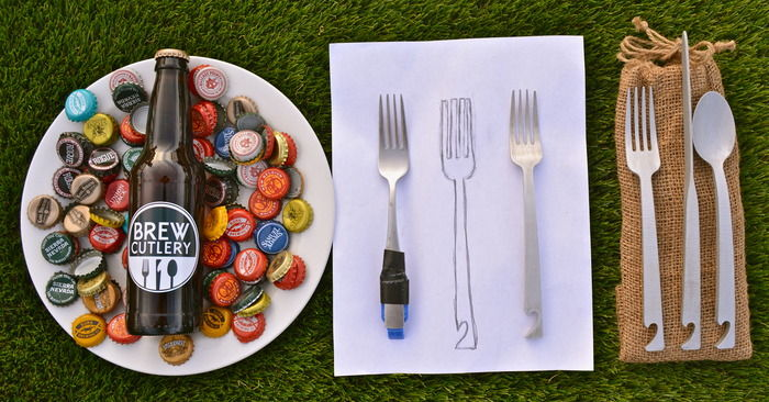 Creative Brew-Opening Cutlery