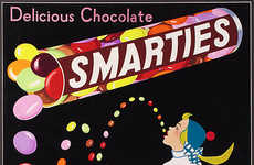 Nostalgic Chocolate Campaigns