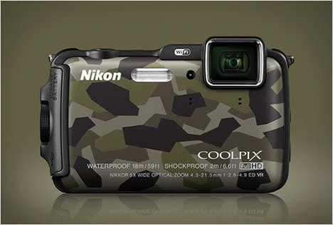 Army-Inspired Digital Cameras
