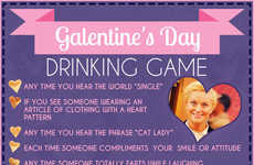 Sitcom-Inspired Drinking Games - The Galentine's Day Drinking Game Rules Take After Parks and Rec