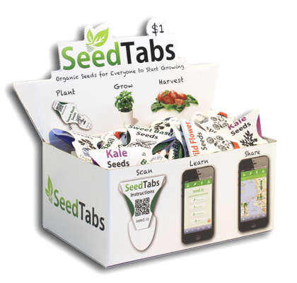 Accessible Gardening Packets - SeedTabs Make Gardening as Easy as Drinking Coffee