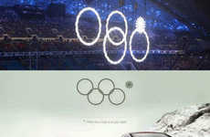 Glitch-Based Car Ads - The Sochi 2014 Olympic Ring Malfunction Paved the Way for This Audi Ad