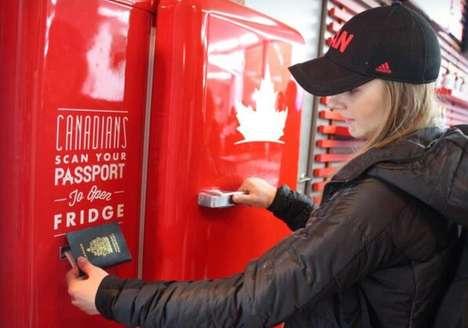 Passport-Scanning Refrigerators