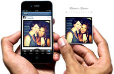 Social Media Magnetization Apps - StickyGram Magnets Turn Digital Memories Cute Memoribilia Items