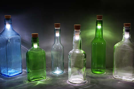 Transform Your Empties into Beautiful Lamps with the BottleLight