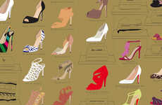 TV Show Footwear Illustrations