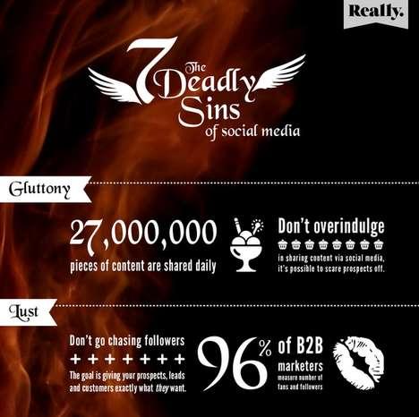 Sinful Social Media Guides