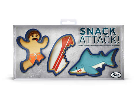 The Shark Cookie Cutter Will Take a Bite Out of Your Tastebuds