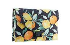 Citrus-Printed Fashion - The Loeffler Randall Accessories Collection Embodies a Summery Vibe