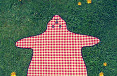 Cutesy Bear Blankets - These Teddy Bear Picnic Blankets Will Delight Children