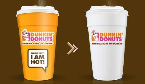 Heat-Alert Coffee Cups