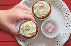 Predictive Confectionary Cups - These Fortune Cakes Cupcake Molds Offer Humorous Baking Insights