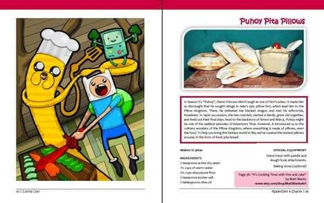 Cartoon-Inspired Cuisine