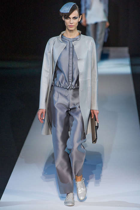 Mercedes-Benz Fashion Week 2014 Is Roaring with Gray