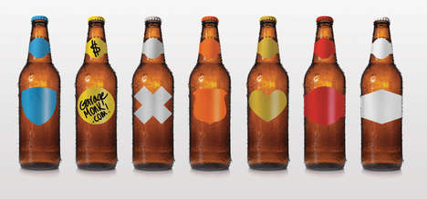 Washable Customizable Beer Labels