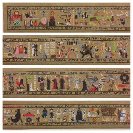 Geeky Movie Trilogy Tapestries