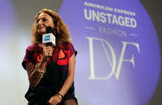Tech-Infused Runway Shows - Tech and Fashion Collide at the Diane Von Furstenberg Show