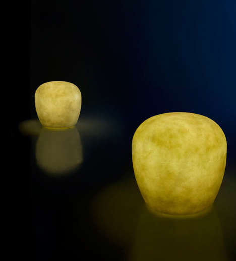 Illuminated Stool Seating